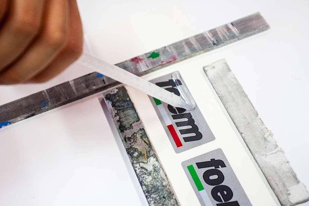 etichette resinate personalizzate rtg artline castellarano